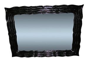 Miroir Mural Noir Groß120x90 Couloir Coiffeur de Sale Bain Ancien ...