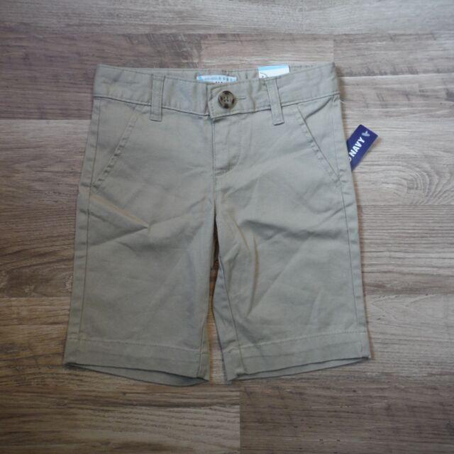 b4fd814fd8 Khaki Tan shorts school uniform size 6 Girls Old Navy adjustable waist new  tags