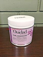 OUIDAD Curl Immersion Triple Treat Deep Conditioner 12oz / 354mL - NEW & FRESH!