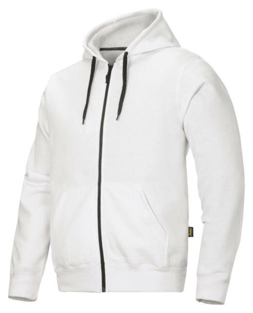 FREE BEANIE SOFT LINING STEEL Snickers 2801 Full Zip Hooded Work Sweatshirt