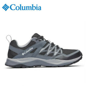 Columbia-WAYFINDER-Hiking-Shoe-Black-Grey-Men-039-s-Size-10