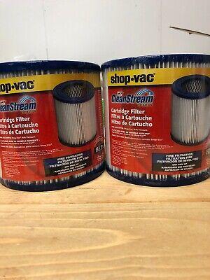 SHOP VAC CLEAN STREAM CARTRIDGE FILTER 90329 FOR ASH VACUUM-NEW