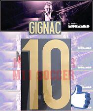 Tigres Uanl Nameset , #10 GIGNAC tercera TEMPORADA 2017