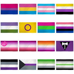 Gender Queer LGBT Pride Flag Luggage Tag