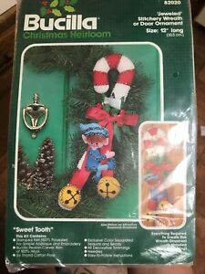 Bucilla-Sweet-Tooth-Elf-On-Candy-Can-Jeweled-Felt-Embroidery-Kit-Retired-82020