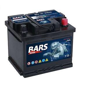 autobatterie bars 12v 50ah starterbatterie wartungsfrei. Black Bedroom Furniture Sets. Home Design Ideas