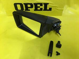 NEU-ORIGINAL-OPEL-Spiegel-LINKS-Rekord-E-1-Commodore-C-innen-verstellbar-NOS-GM