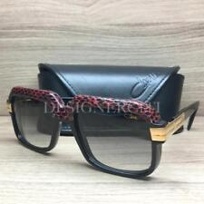 9eecea25a89b Cazal Mod 607 3 Limited Edition Sunglasses 1 2 Leather Black 702 Authentic  56mm