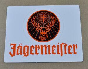 Jagermeister-USA-Autocollant-Sticker-Decal-Logo-Avec-Inscription