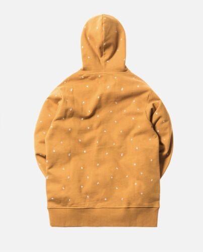Gelb Medium K´s Versand Größe am Hand Tag Kith selben der In Hoodie qIt47dw