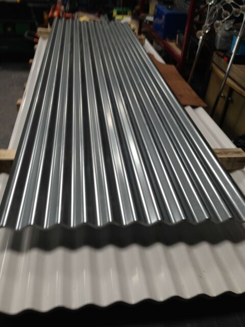 8ft Galvanised Corrugated Roofing Sheets For Sale Ebay