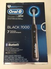 Oral-B Black 7000 SmartSeries Rechargeable Electric Toothbrush w/Bluetooth