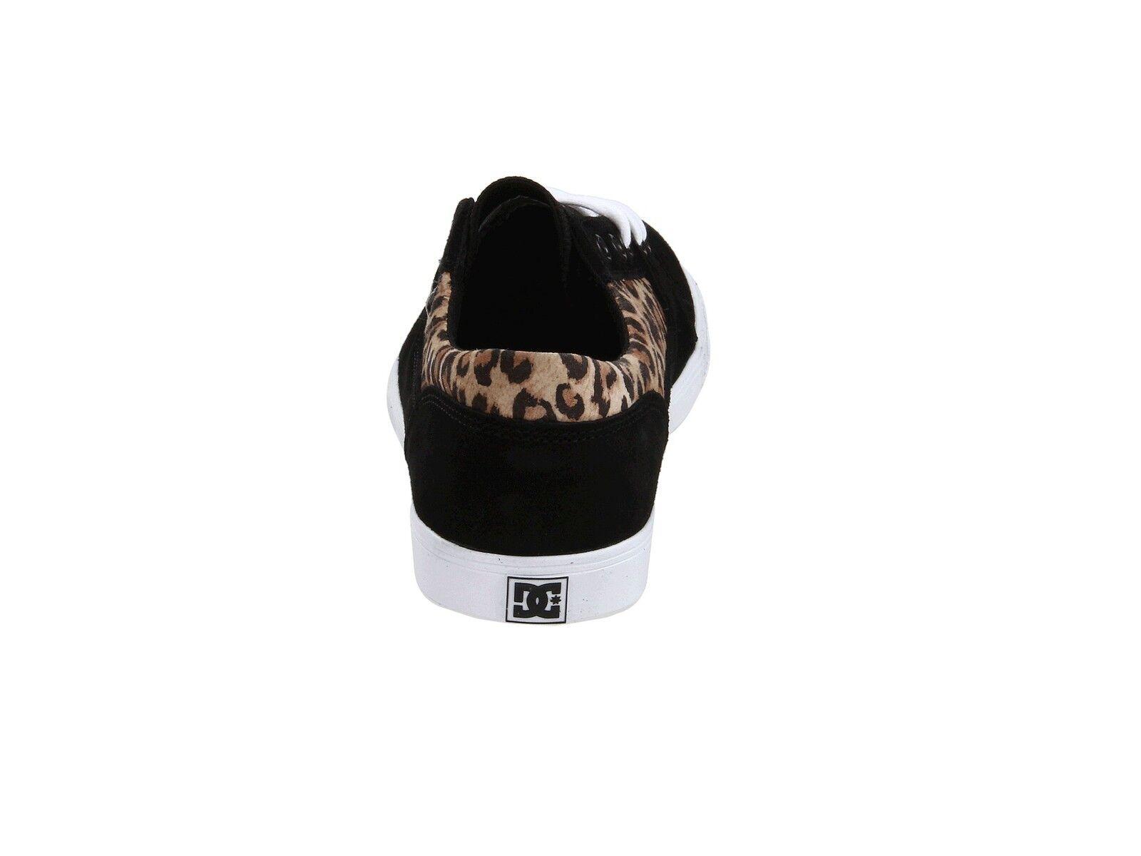 DC Schuhes - BRISTOL LE Damenschuhe Schuhes DC NEW Größe 9-11 LEOPARD BLACK Animal Print FREE SHIP 8d56cd