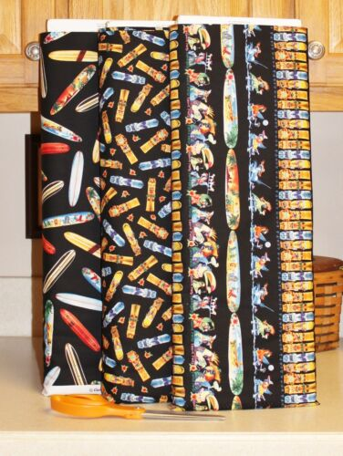 Elizabeth/'s Studio Parrot Party Surfboards Fabric Collection bty