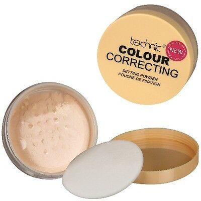 Technic Yellow Banana Colour Correcting Loose Setting Face Powder Gesichtspuder