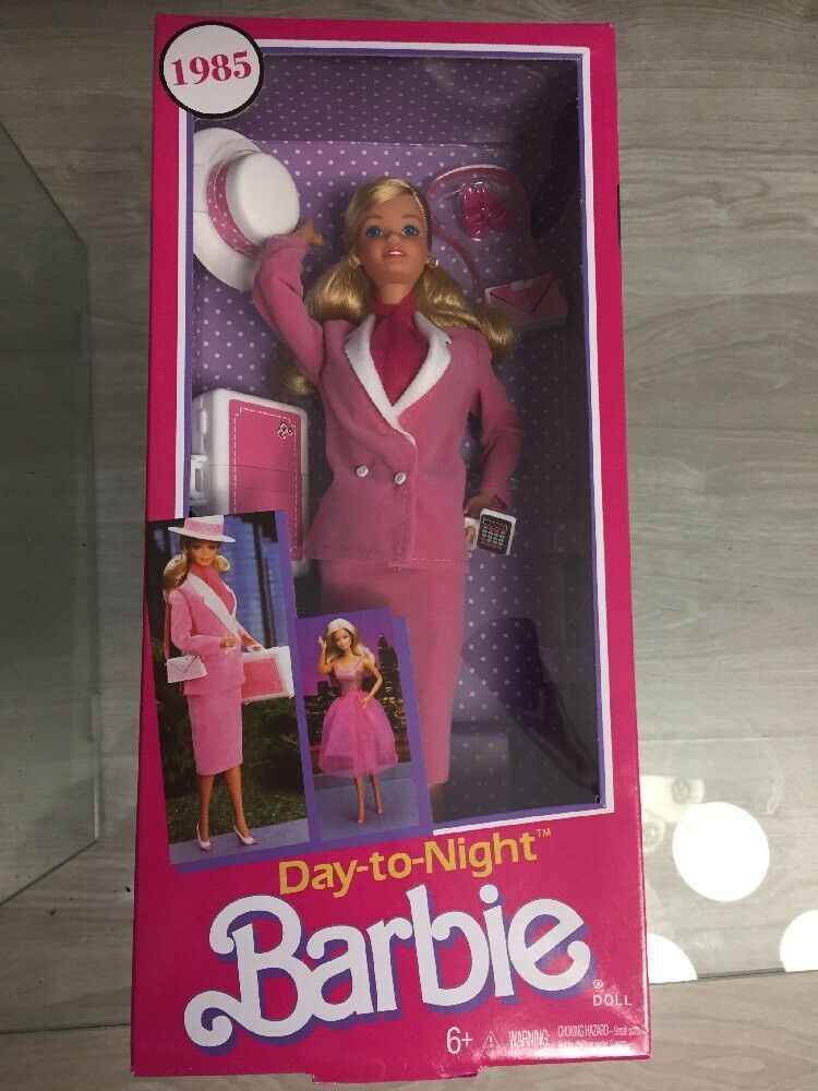 2017 Barbie Day To Night 1984 Repro Nuova Nrfb