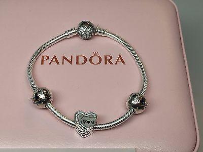 NEW Pandora Tribute to Mom Bracelet & Charm Gift Set 19 CM Mother Mom | eBay
