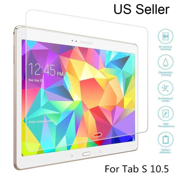 Gorilla Glass Screen Protector 9h for Samsung Galaxy Tab S Sm
