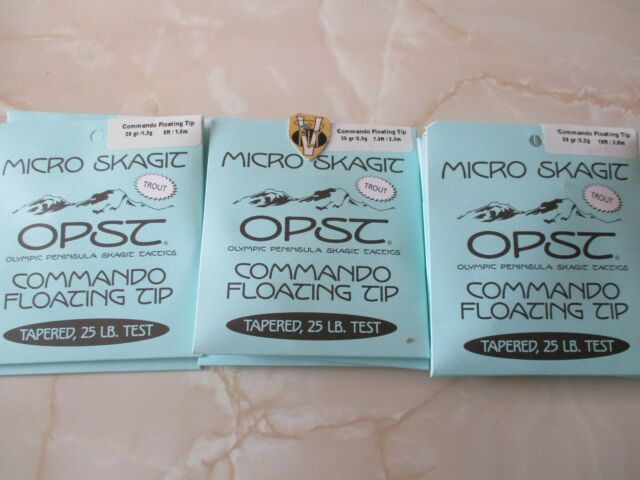 OPST COMMANDO MICRO SKAGIT FLOATING TIP 7.5 FEET 35 GRAIN NEW!
