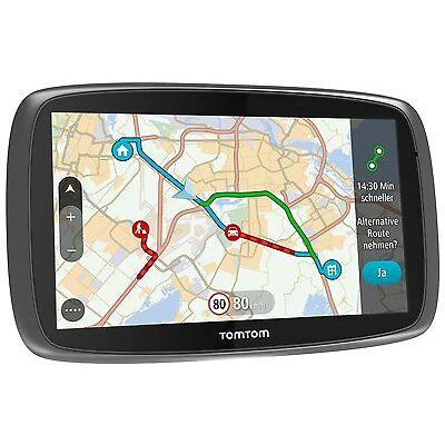 TomTom GO 6100 World 152 Länder Lifetime Maps HD-Traffic Tap & GO GPS Rückläufer