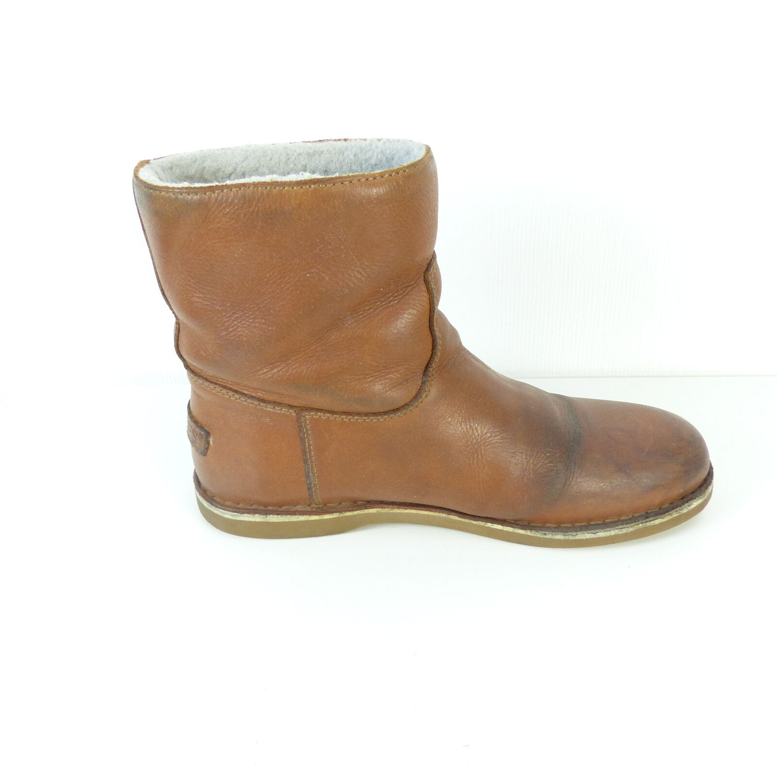 Shabbies Shabbies Shabbies Amsterdam cuir bottes 32219 Marron Taille EUR 39 140a5a