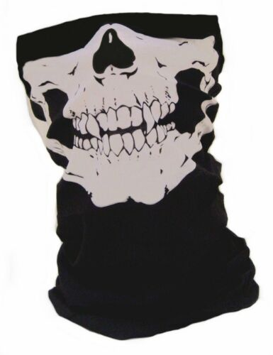Multifunction Scarf Skull Pattern Face and Neck Protection Tubular Bandana Scarf
