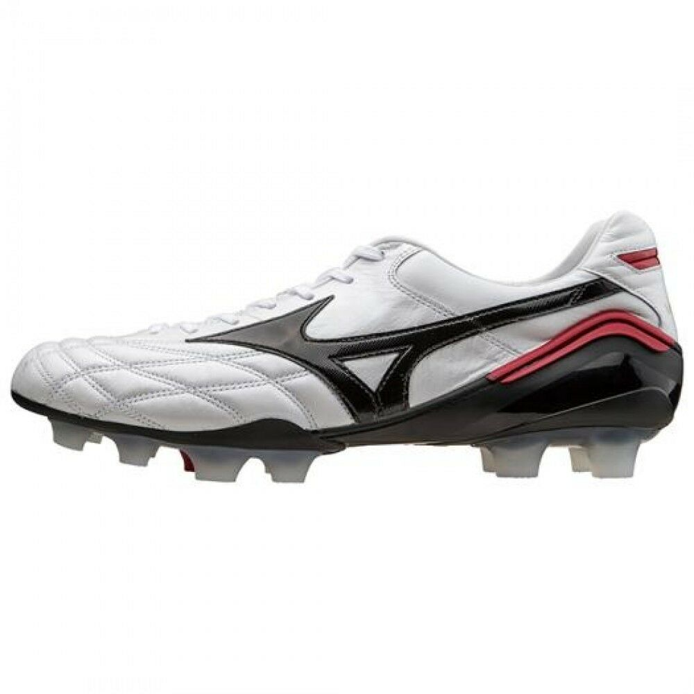 Mizuno 12KP90109 Morelia Wave Fútbol Hombres Zapatos blancooo 24.5-29.0cm Japón