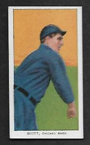 1909-11 T206 Jim Scott White Sox Piedmont 350 BEAUTIFUL EXMT PSA TRIMMED