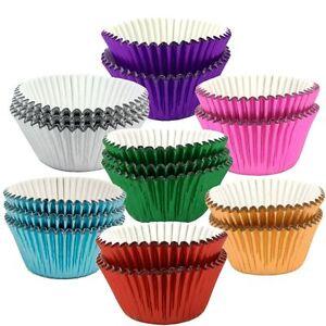 Culpitt-Metallic-Foil-CUPCAKE-CASES-High-Quality-Greaseproof-Bun-Muffin-Baking