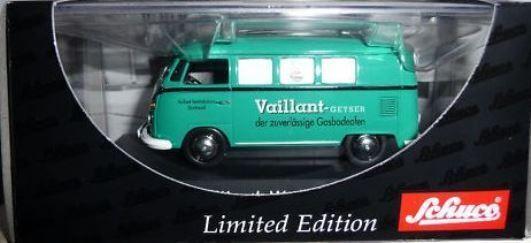 RARE SCHUCO VW T1 VAN VAILLANT ANIVERSARY PROMO 1 43 NEW BOXED 1 OF 150