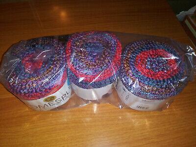 1 Misty Morning Skein Lion Brand Yarn 575-619 Homespun New Look Yarn