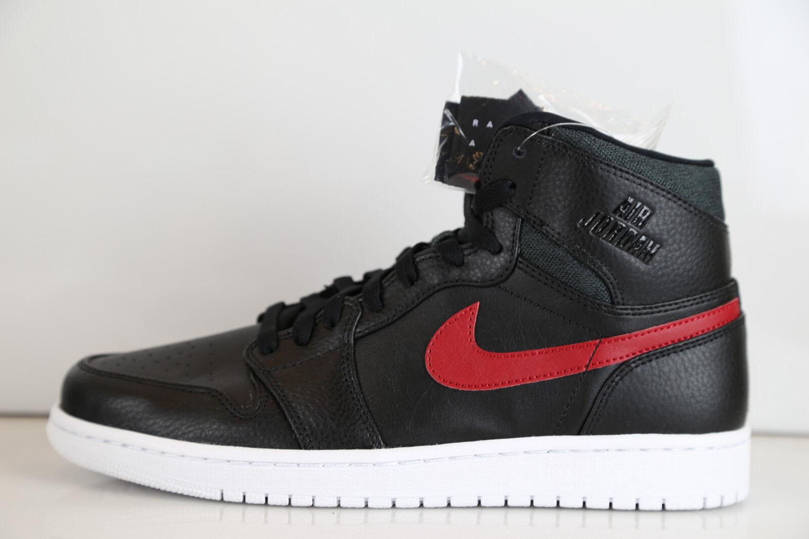 Nike High Air Jordan Retro 1 High Nike Raro Aire Negro Gimnasio Rojo 32550012 714 criados 3 11 6 2d2244