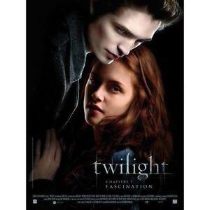Affiche-40x60cm-TWILIGHT-Chapitre-1-Fascination-2009-Pattinson-Stewart-NEUVE