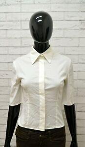 Camicia-PATRIZIA-PEPE-Donna-Taglia-42-Maglia-Blusa-Shirt-Woman-Regular-Bianco