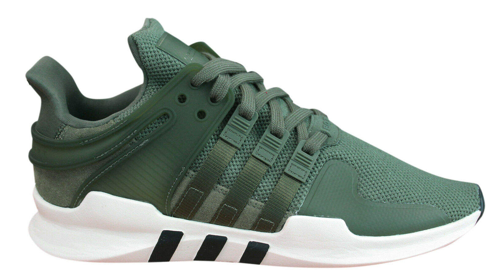 Adidas Originals Equipment Support Adv Womens Trainers Green Textile CP9689 M4