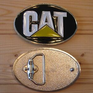 Caterpillar CAT motor work machinery belt buckle