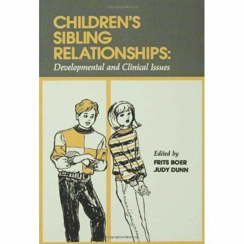 Childrens Sibling Relationships: Developmental and Clinical Issues, , Used; Good