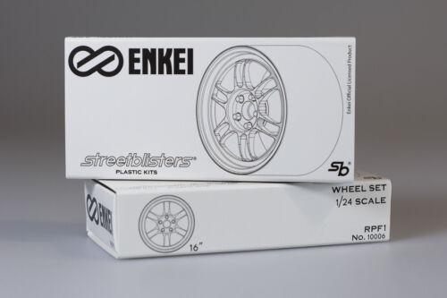 StreetBlisters 1//24 Enkei RPF1 SB TIRES llantas//jantes//wheels//reifen