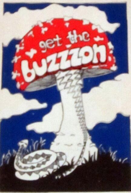 GET THE BUZZZON Psychedelic MARIJUANA HASHISH MUSHROOMS SHAMANISM PEYOTE DATURA