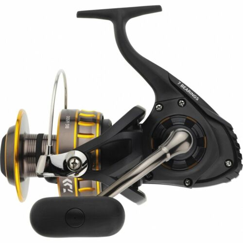 Spinning Reel 6500 6BB 1RB 5.3:1 BG6500 NEW Daiwa Black Gold BG