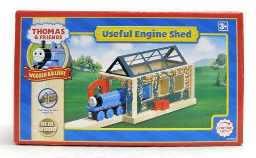 Lära Curve Thomas och vänner träen järnvägway - USEFUL ENGINE SHED LC99381 ny