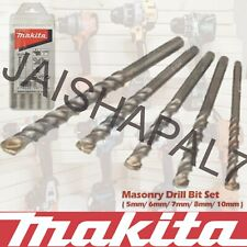 Makita Masonry Bit Pcs Stone Brick Concrete Dewalt Bosch Hitachi Impact Driver