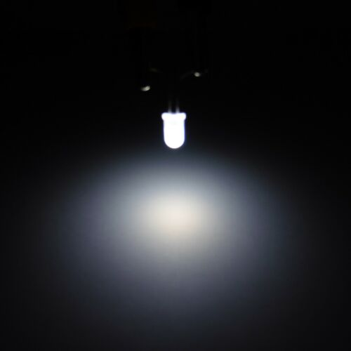 Ultra Bright 5mm Milky LED Diode Round Top Light Emitter Mist