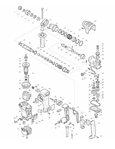 Parts (by choosing) for Makiita Rotary Hammer HR2811F   eBay on