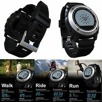 Waterproof Sport Gps Running Watch Heart Rate Monitor Wrist Activity Tracker