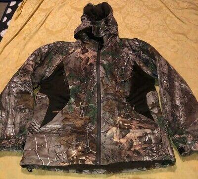Onyx Arctic Shield Coat Realtree Extra Camo Sz Medium Very