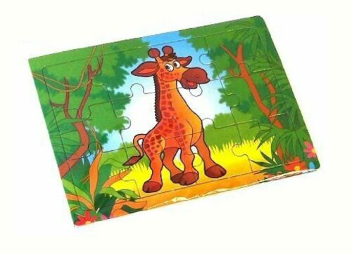 303-005 Kinder Spaß Party Spielzeug Bild Zoo Tier Puzzle Puzzle 12CM X 8.5CM