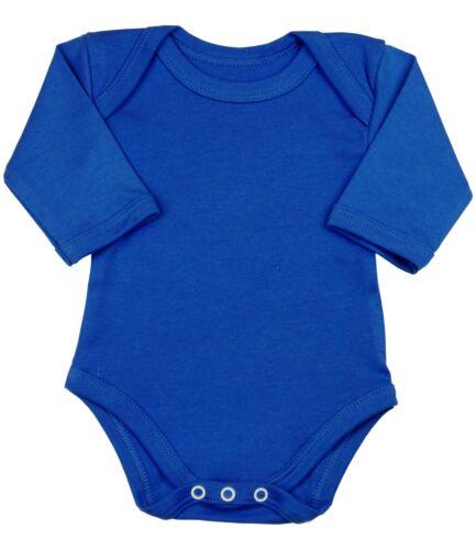 BabyPrem Baby Clothes Long Full Sleeve Bodysuit One-Piece Vest Top Boys Girls