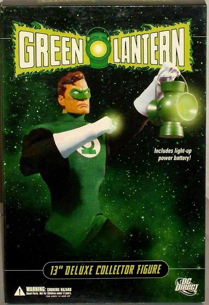 DC Direct Deluxe Green Lantern Hal Jordan 1 6 Special Collector Figure