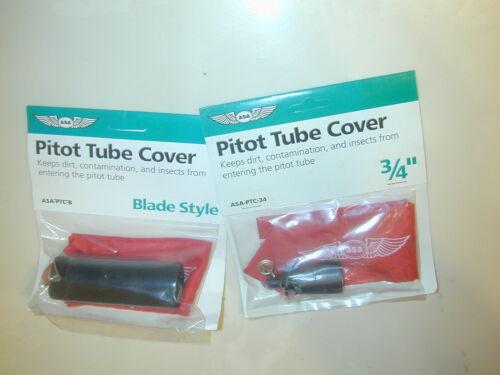 "Pitot Tube Cover 3//4/"" ASA-PTC-34// B Blade Type Cessna 150 172 Piper Cherokee"